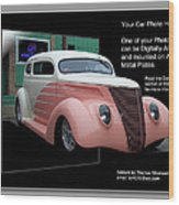 Sample Car Artwork Readme Wood Print