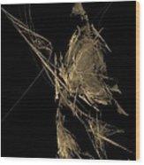 Samurai Wood Print