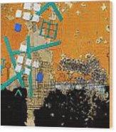 San Antonio 01 A Wood Print