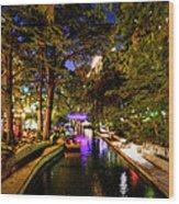 San Antonio Hdr 001 Wood Print