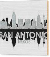 San Antonio Tx 4 Wood Print