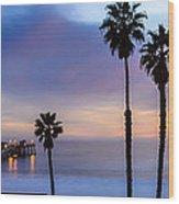 San Clemente Pier Wood Print by Radek Hofman