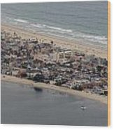 San Diego Coast Aeriol 3 Wood Print