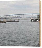 San Diego Coronado Bridge 5d24351 Wood Print