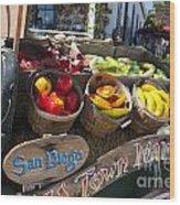 San Diego Old Town Market Wood Print