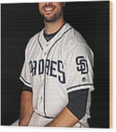 San Diego Padres Photo Day Wood Print