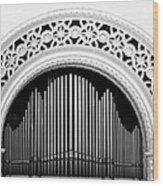 San Diego Spreckels Organ Wood Print