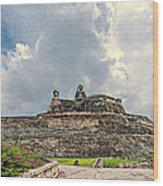 San Felipe Fort Wood Print