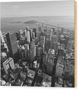 San Francisco Aerial Wood Print