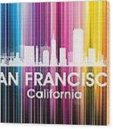 San Francisco Ca 2 Wood Print