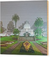 San Francisco Conservatory Of Flowers Wood Print