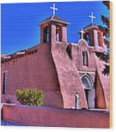 San Francisco De Asis Mission Church Wood Print