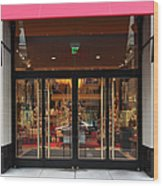 San Francisco Gumps Store Doors - 5d20588 Wood Print by Wingsdomain Art and Photography