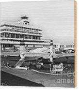 San Francisco International Airport Passenger Terminal Circa 195 Wood Print