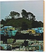 San Francisco Neighborhood Wood Print
