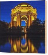 San Francisco Palace Of Fine Arts Wood Print