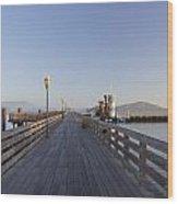 San Francisco Pier Wood Print