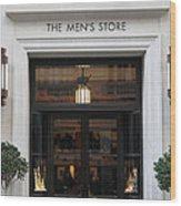 San Francisco Saks Fifth Avenue Store Doors - 5d20573 Wood Print