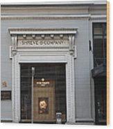 San Francisco Shreve Storefront - 5d20583 Wood Print