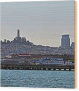 San Francisco Skyline -2 Wood Print
