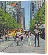 San Francisco's Gay Pride Parade Wood Print