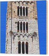 San Frediano Campanile Wood Print