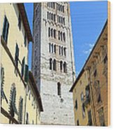 San Frediano Tower Wood Print
