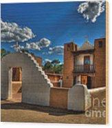 San Geronimo Church Taos Pueblo Wood Print