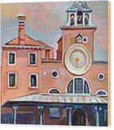 San Giacomo Di Rialto Wood Print