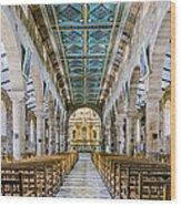 San Gil Cathedral  Wood Print