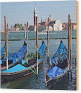 San Giorgio Maggiore Church And Bell Wood Print