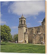 San Jose Mission Texas Wood Print