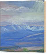 San Juan Mountains Colorado Wood Print