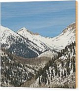 San Juan Mountains No. 3 Wood Print