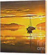 San Juan Sunrise Wood Print