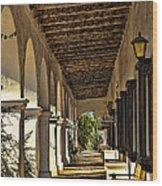 San Luis Rey Mission - California Wood Print