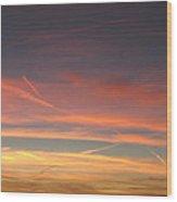 San Luis Sunset Wood Print