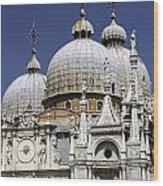 San Marco Basilica. Wood Print by Fernando Barozza