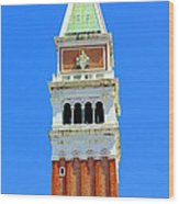 San Marco Campanile Wood Print