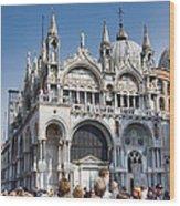San Marco Square Wood Print