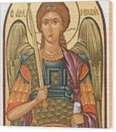 San Michael Wood Print