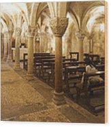 San Michele Chapel Wood Print