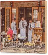 San Miguel - Waiting For Customers Wood Print
