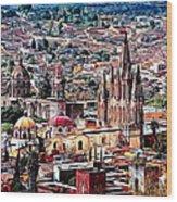 San Miguel De Allende Wood Print