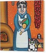 San Pascual And Felix Wood Print by Victoria De Almeida