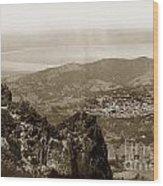 San Rafael From Mount Tamalpais California Circa 1905 Photo By Putnam- Valentine Wood Print