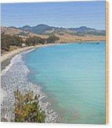 San Simeon Bay Wood Print