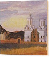San Xavier Del Bac Mission Wood Print