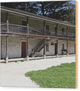 Sanchez Adobe Pacifica California 5d22643 Wood Print