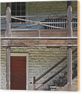 Sanchez Adobe Pacifica California 5d22657 Wood Print